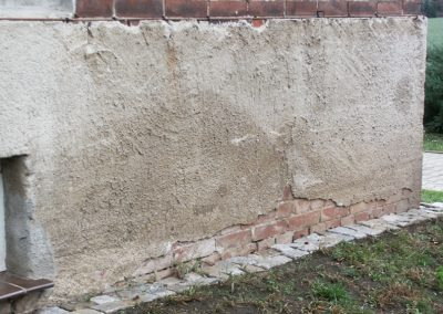 Beweissicherung Mauerriss